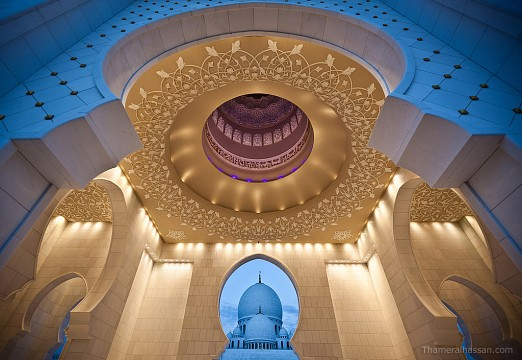 Depth from Dome to Dome - Sheikh Zayed