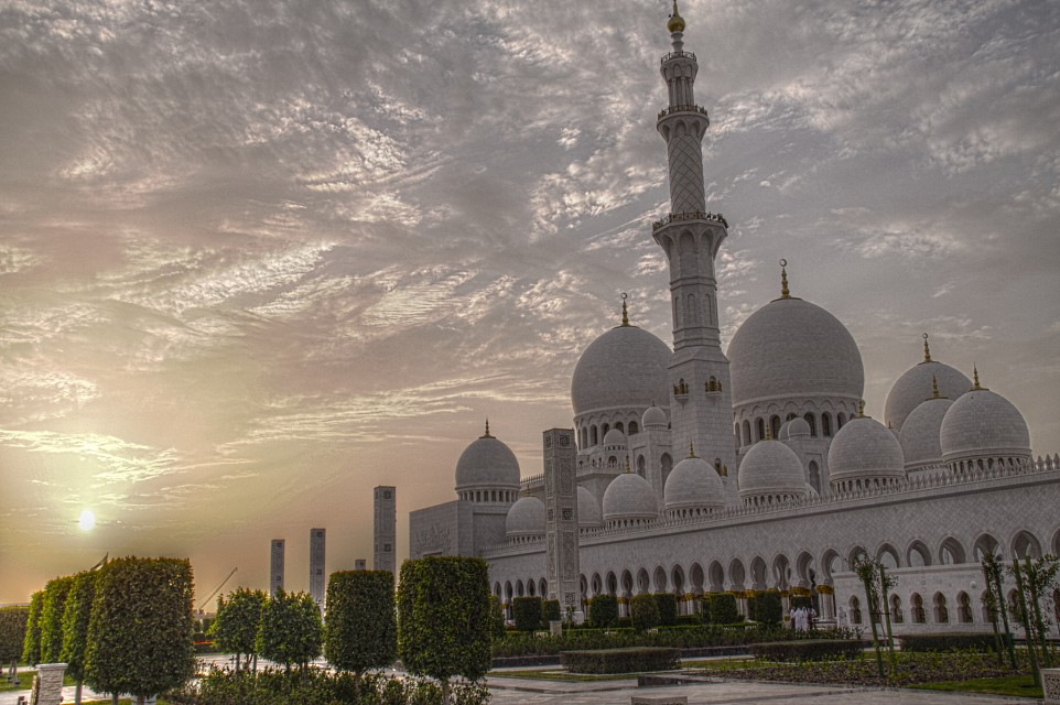 Grand Mosque Abu Dhabi - Sheikh Zayed Mosque