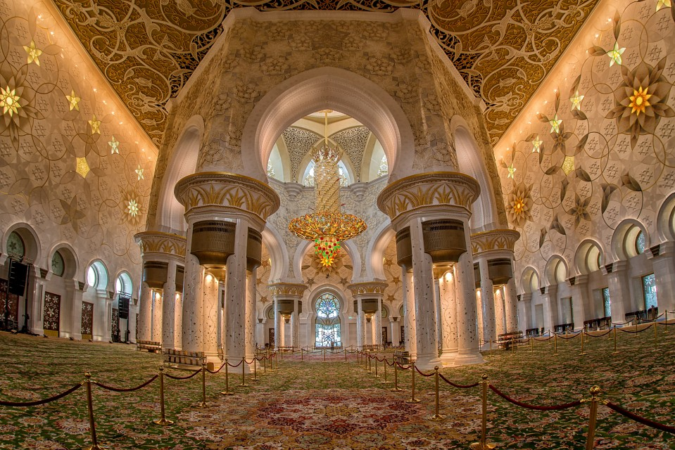 Prayer room Grand Mosque - Sheikh Zayed Mosque
