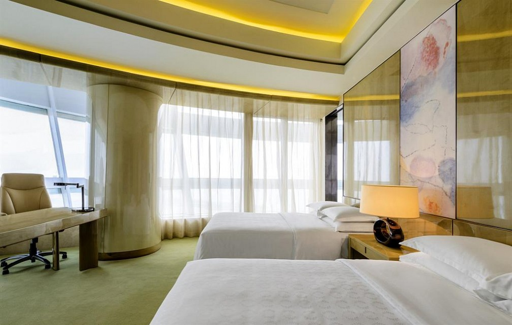 Sheraton Huzhou Hot Spring Resort—Premier Room - Twin - Sheraton Huzhou Hot Spring Resort