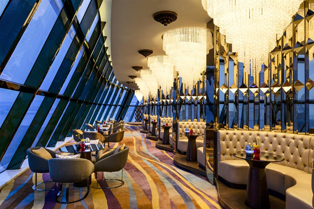 Sheraton Huzhou Hot Spring Resort—Lobby Lounge