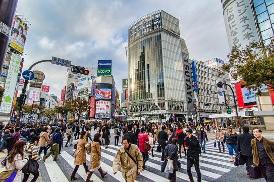 Shibuya Crossing - Shibuya Crossing