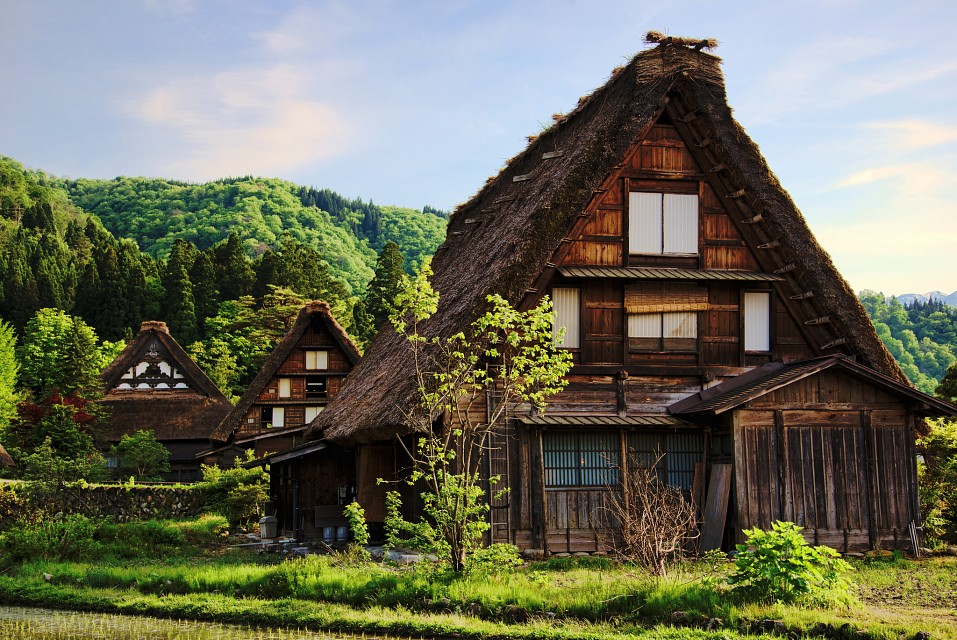 Traditional Houses in Shirakawa-gō - Shirakawa