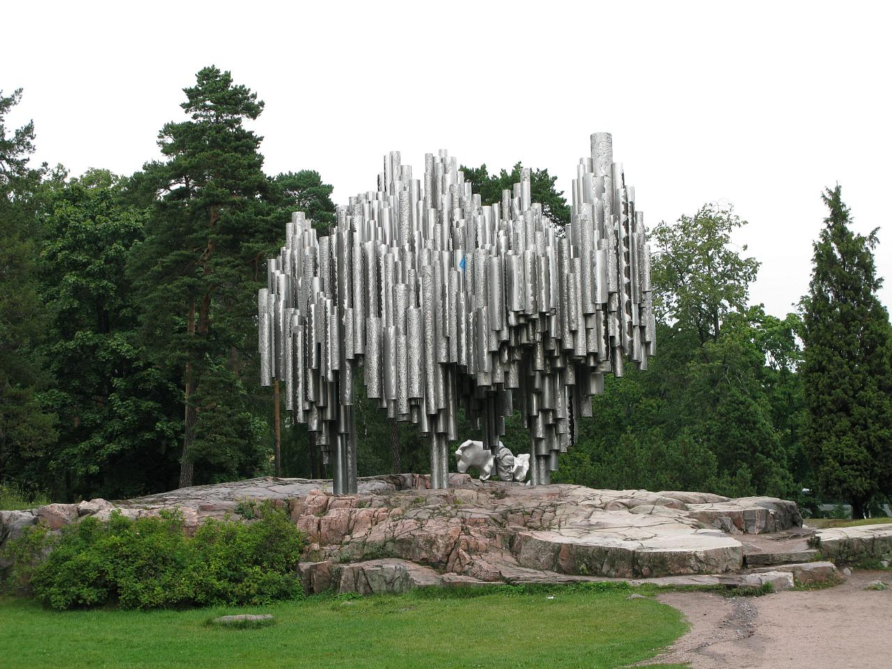 Sibelius Monument - Monument in Helsinki - Thousand Wonders