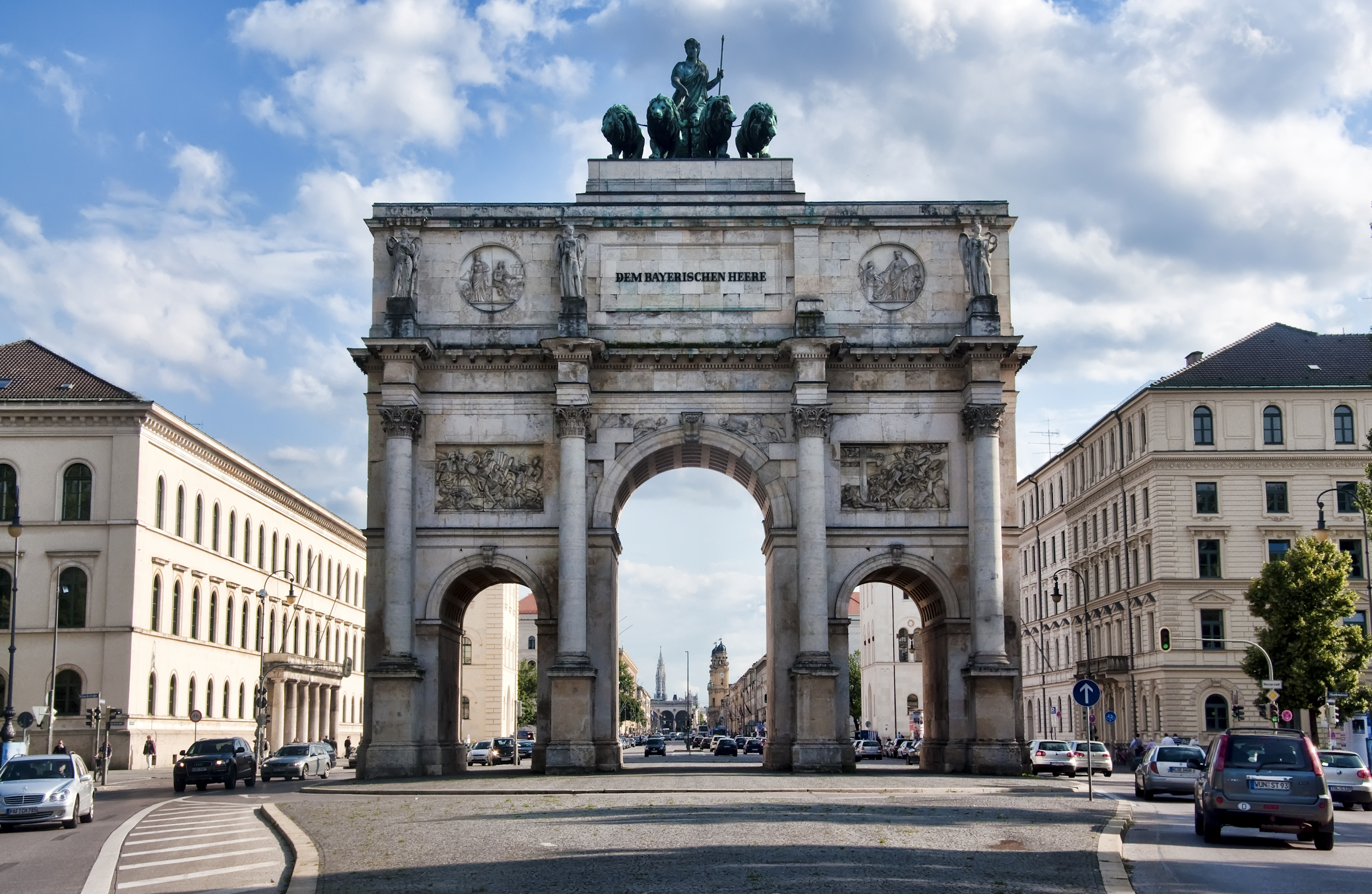 Image result for Siegestor (Victory Gate), Munich, Germany