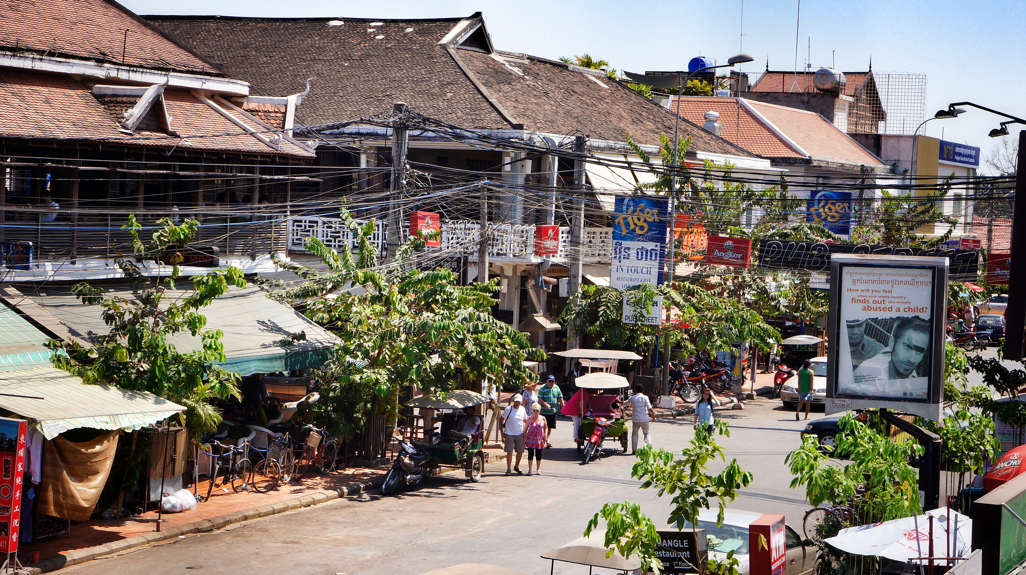 Siem Reap City In Cambodia Thousand Wonders
