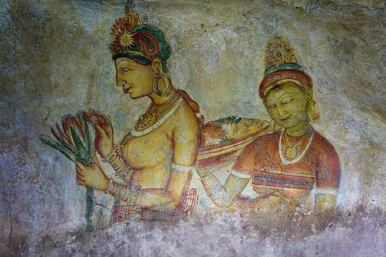 Sri Lankan rock Paintings
