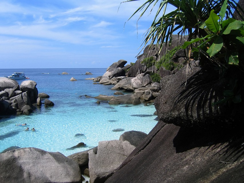 Similan - Diving site on - Similan Islands
