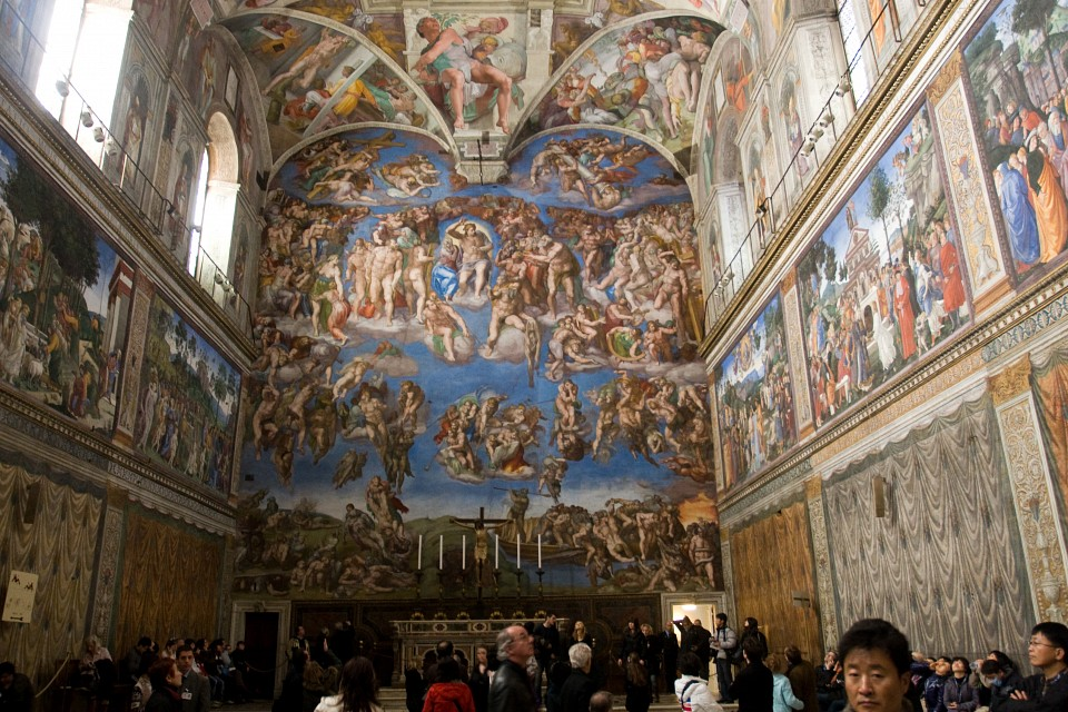 Sistine Chapel in the Vatican City - Sistine Chapel