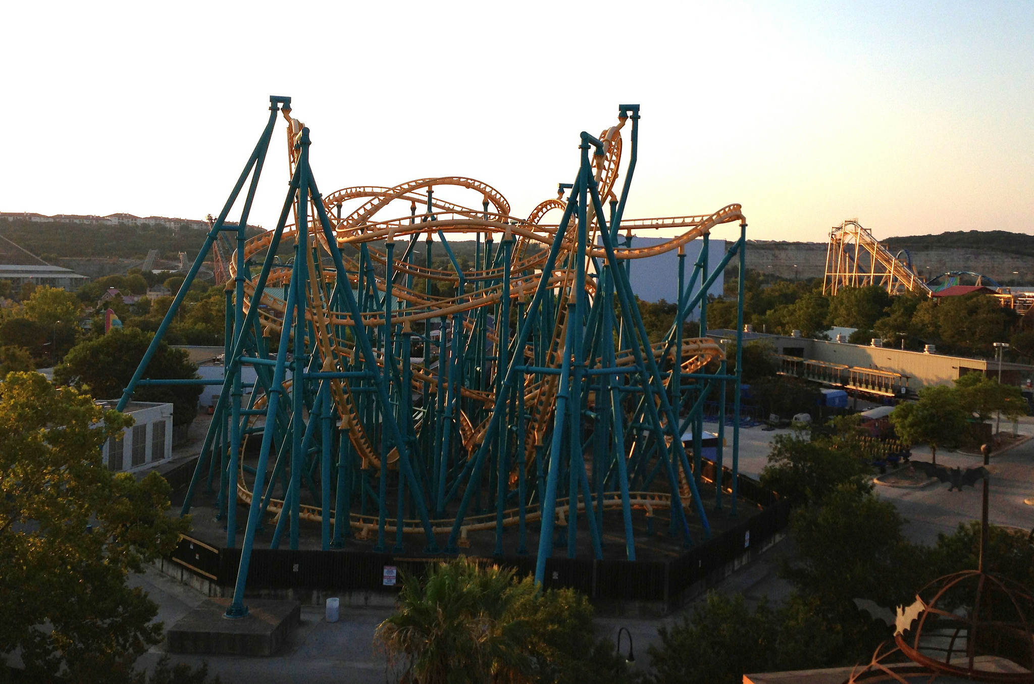 Six Flags Fiesta Texas Theme Park In San Antonio