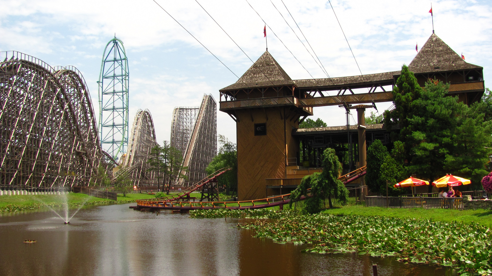 Six Flags Great Adventure Theme Park In United States