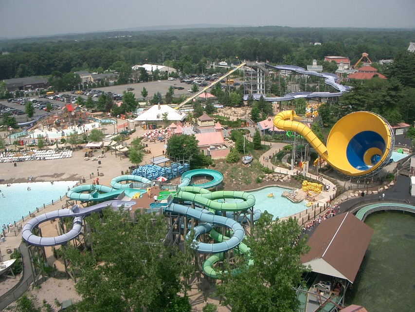Six Flags, New England, Waterpark - Six Flags New England