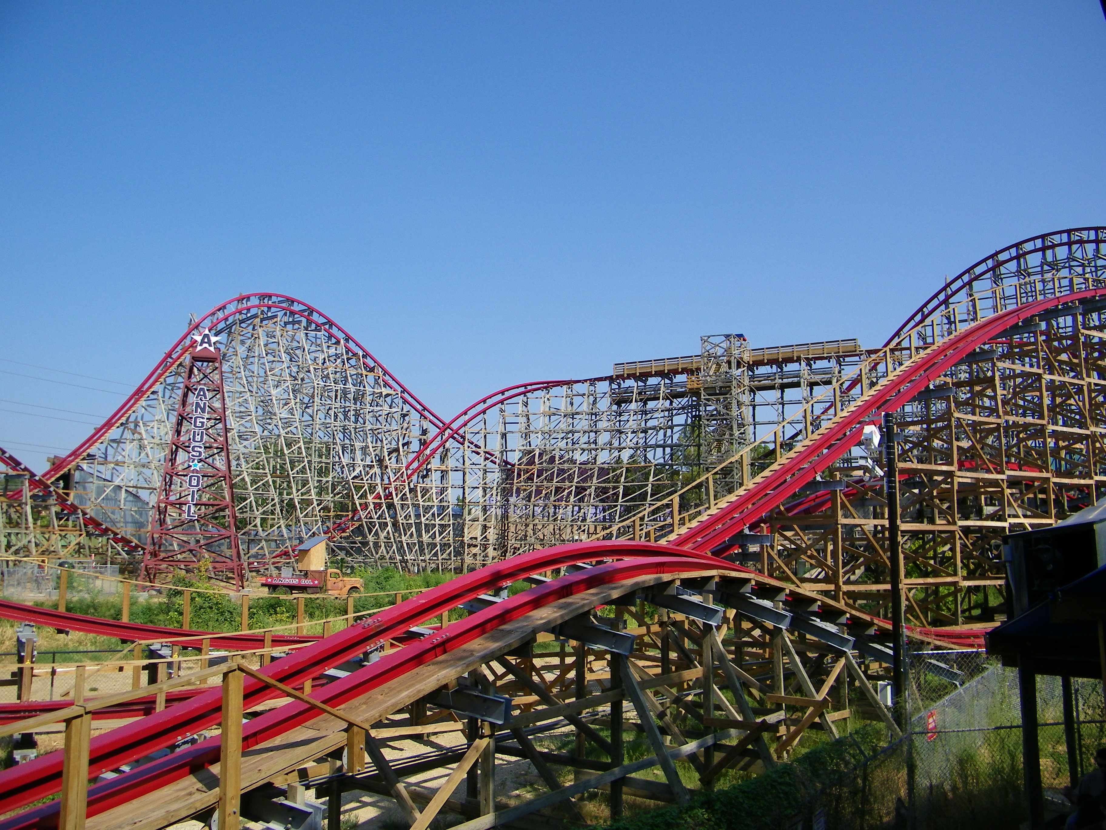 Six Flags Over Texas Theme Park In Dallas Thousand Wonders