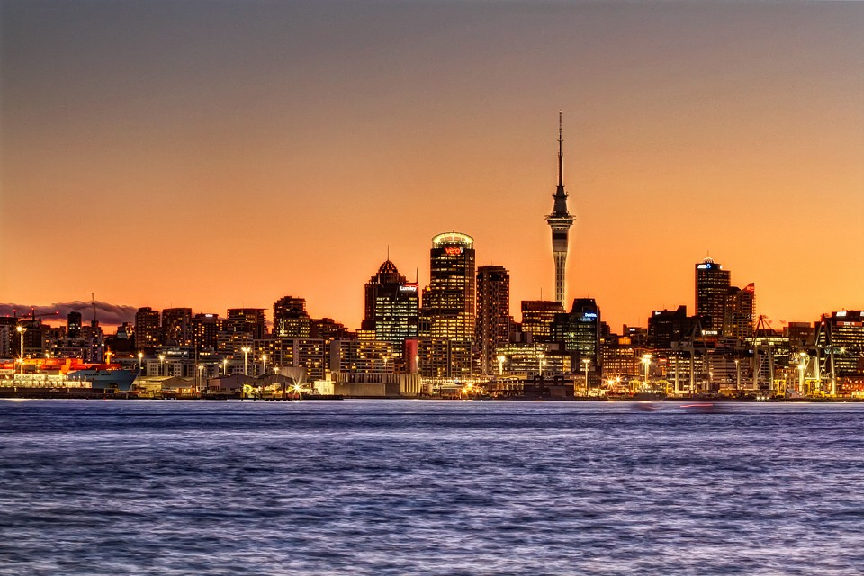Auckland City, New Zealand - Sky Tower