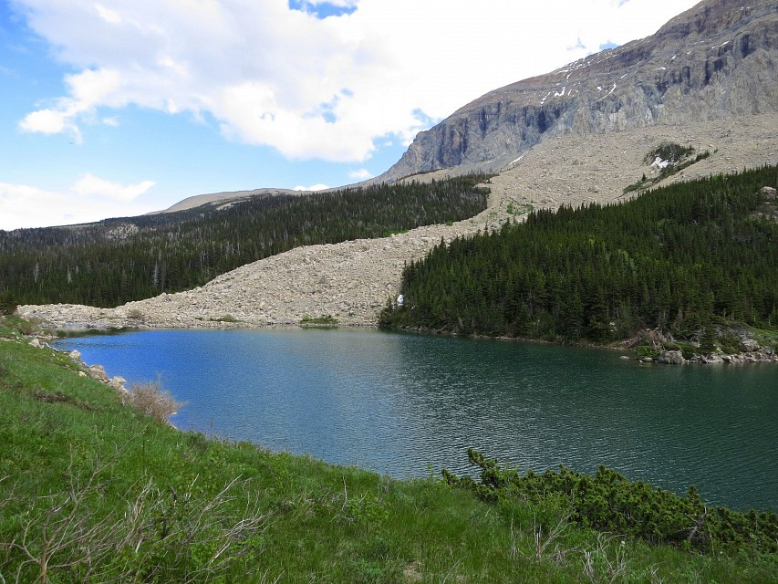 Lower Slide Lake - Slide Lake