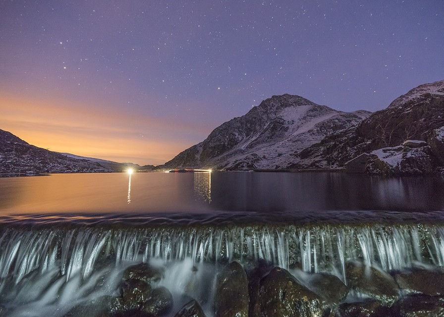 'Ogwen Twilight' - Snowdonia - Snowdonia National Park