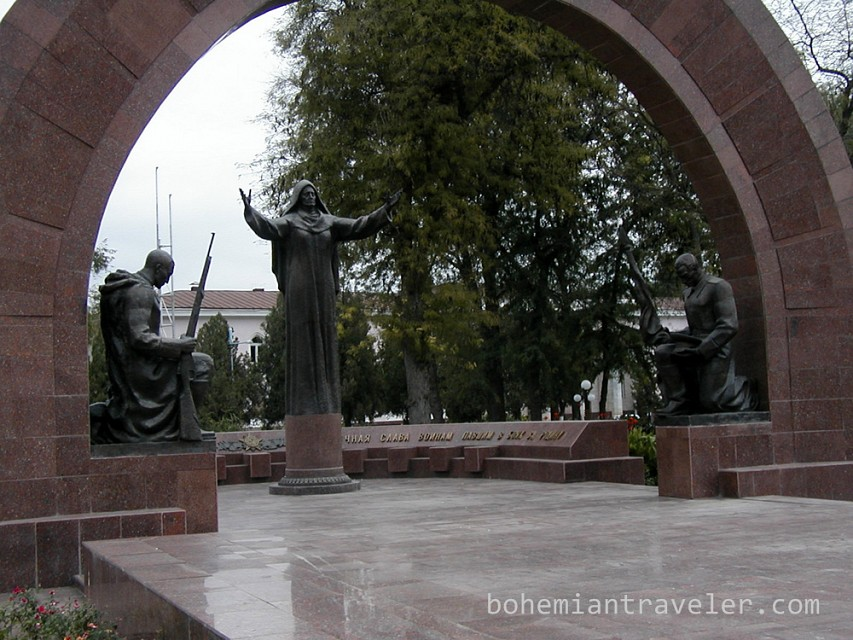 World War Two Memorial - Soviet War Memorial