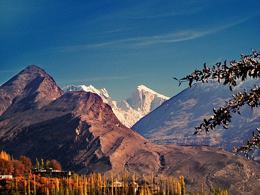Spantik. Mountain in Pakistan, Asia