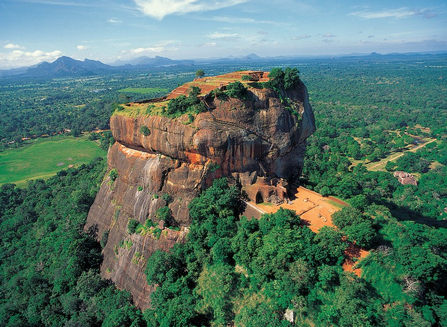 The Sigiriya Rock Fortress - Colombo, Sri Lanka - Sri Lanka