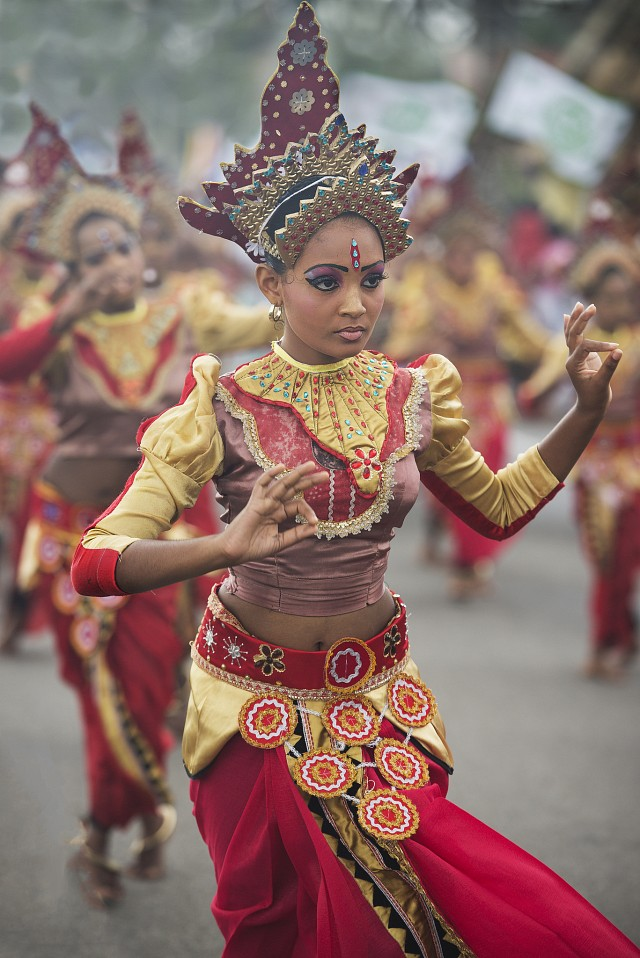 Sri Lankan dancer - Sri Lanka