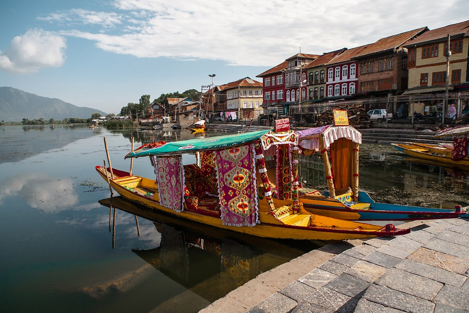 India - Dal lake, Srinagar, Kashmir - Srinagar