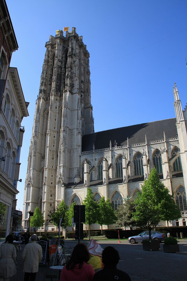 St Rumbold Tower in Mechelen 706 - St. Rumbold's Cathedral