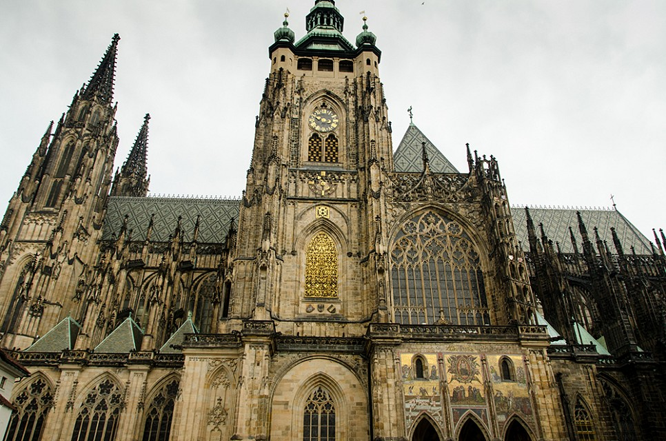 Prague Castle and St Vitus Cathedral - St. Vitus Cathedral