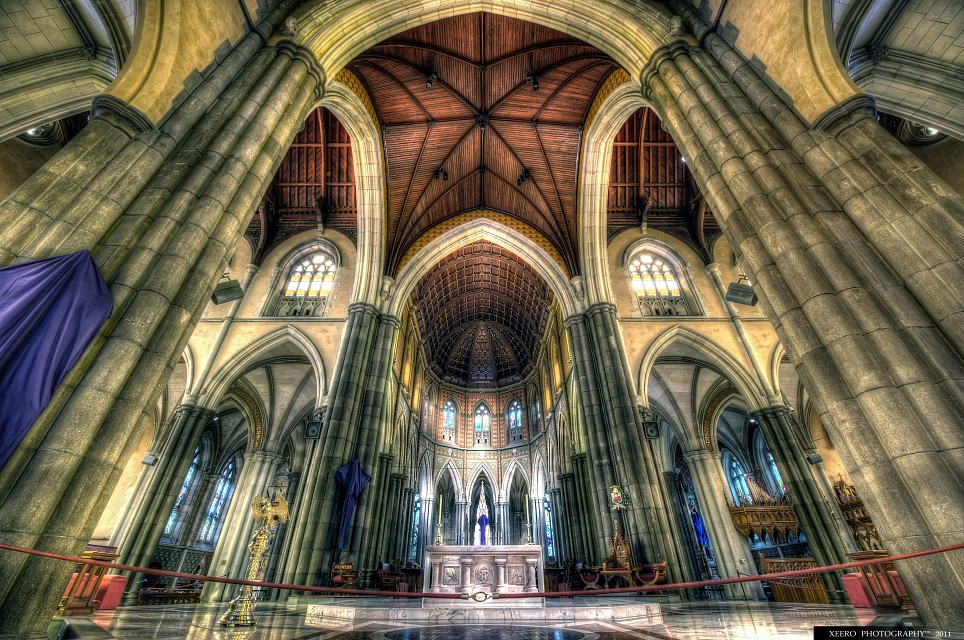 St Patrick`s Cathedral :: HDR - St Patrick's Cathedral Melbourne