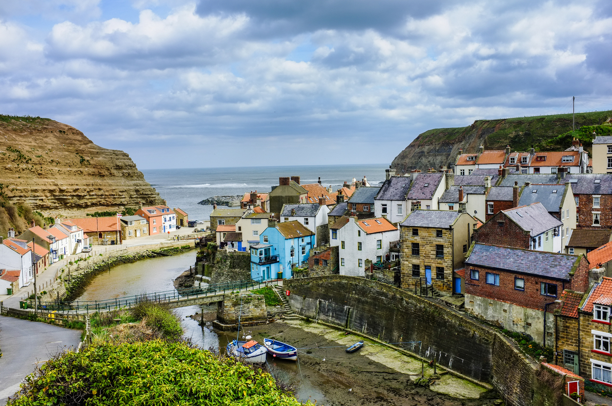 Staithes Village In England Thousand Wonders