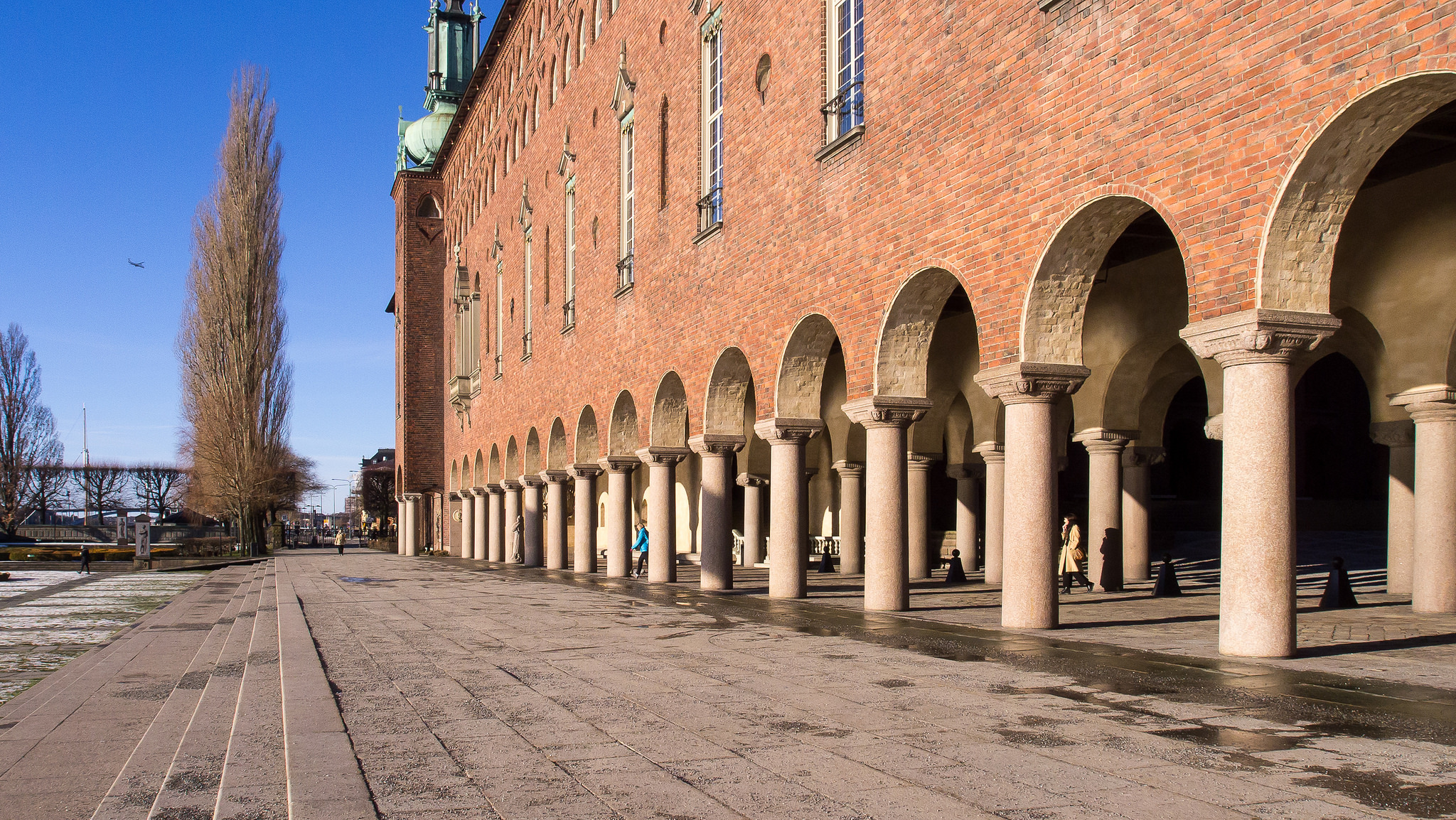 City: City Hall In Stockholm