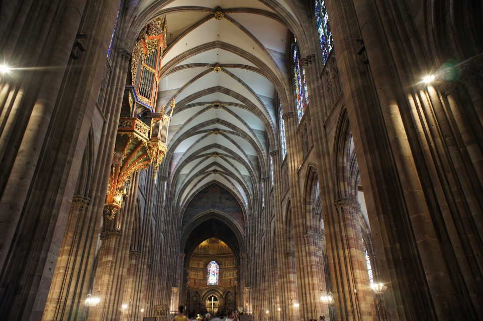 Strasbourg cathedral interior - Strasbourg Cathedral