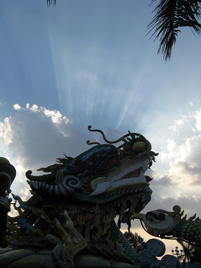 Wild Atmospheric Conditions. Oh, and a Big Ol' Dragon - Suối Tiên Amusement Park