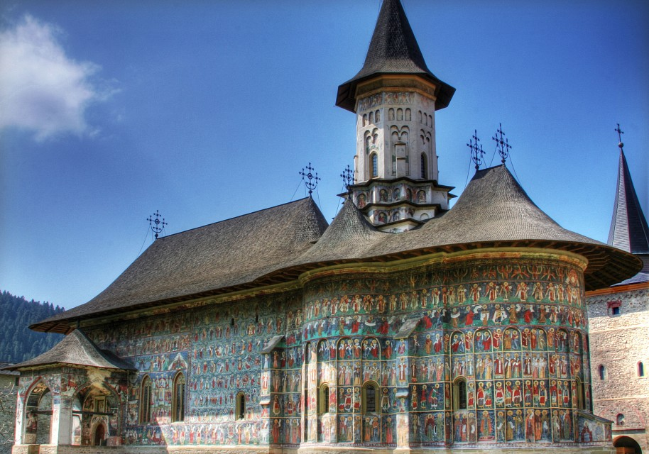 Suceviţa Monastery - The Painted