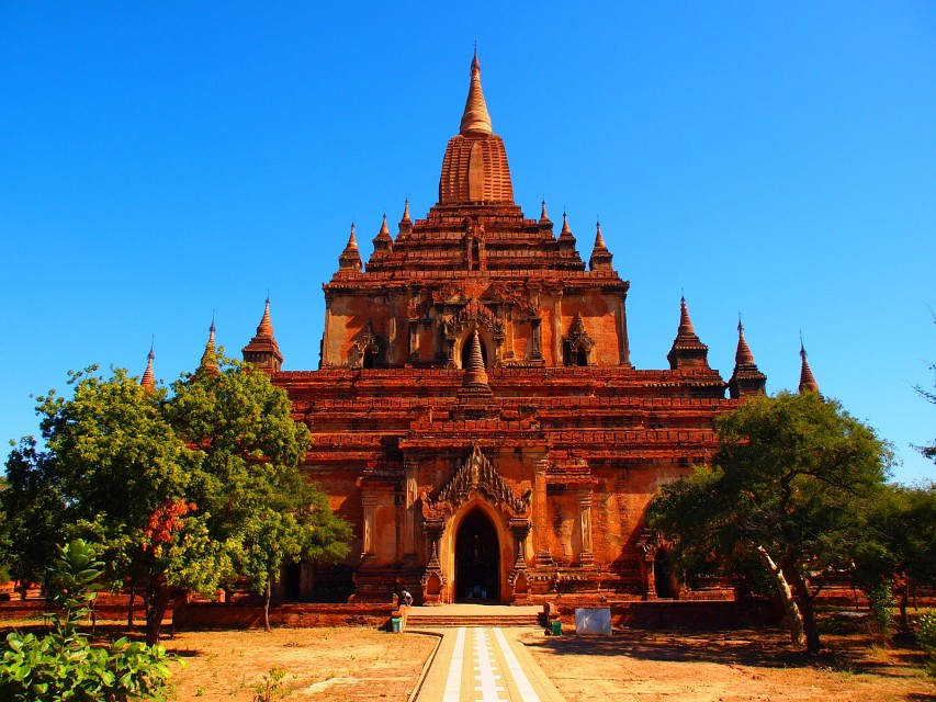 Sulamani temple in Bagan (Myanmar) - Sulamani Temple