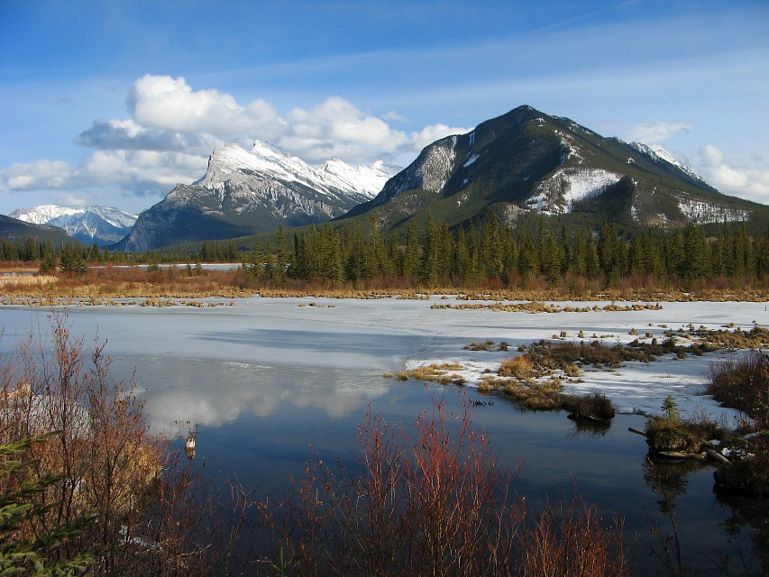 Mount Rundle & Sulphur Mountain - Sulphur Mountain