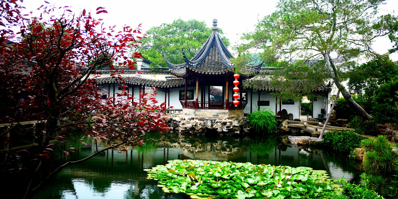 Main Building & Water - Suzhou Net Gardens [苏州] - Suzhou