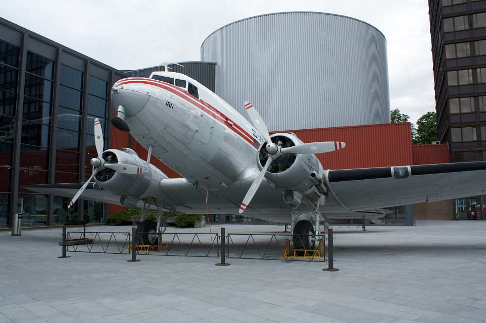 Plane in the Swiss Museum of Transport - Swiss Museum of Transport