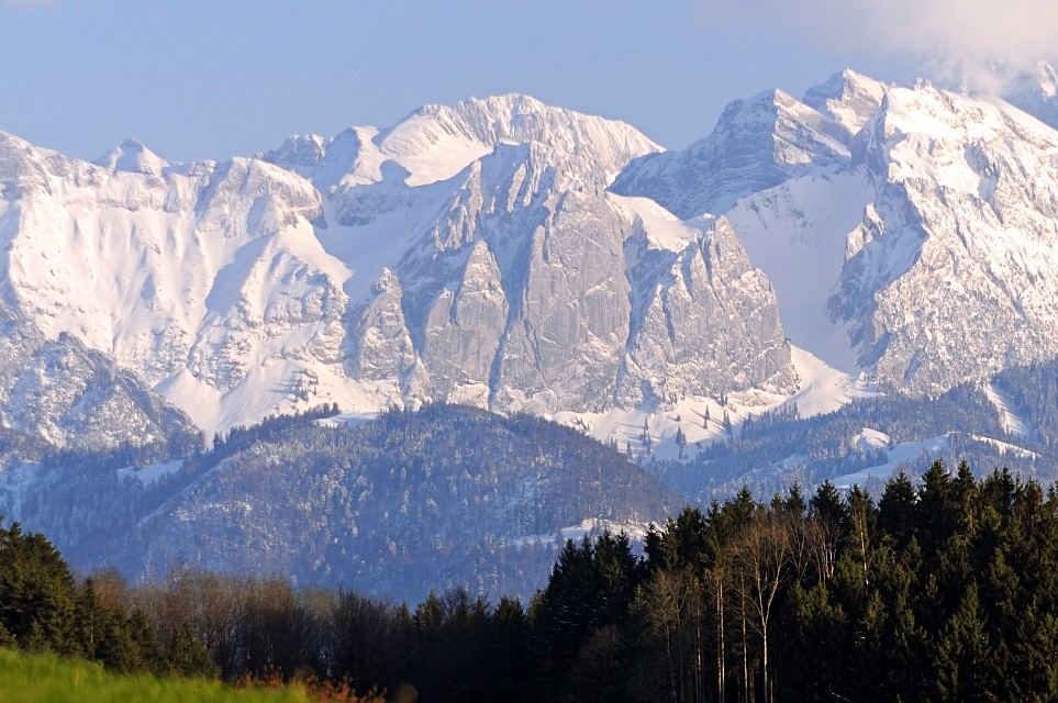 The Alps seen from where I live - Switzerland