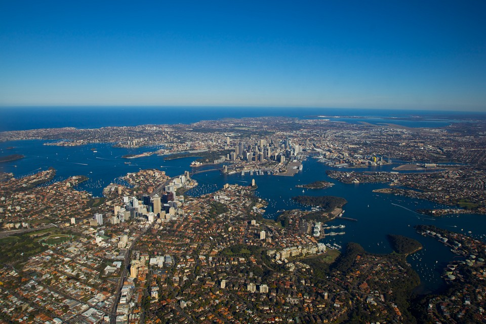 Sydney From Up Above - Sydney