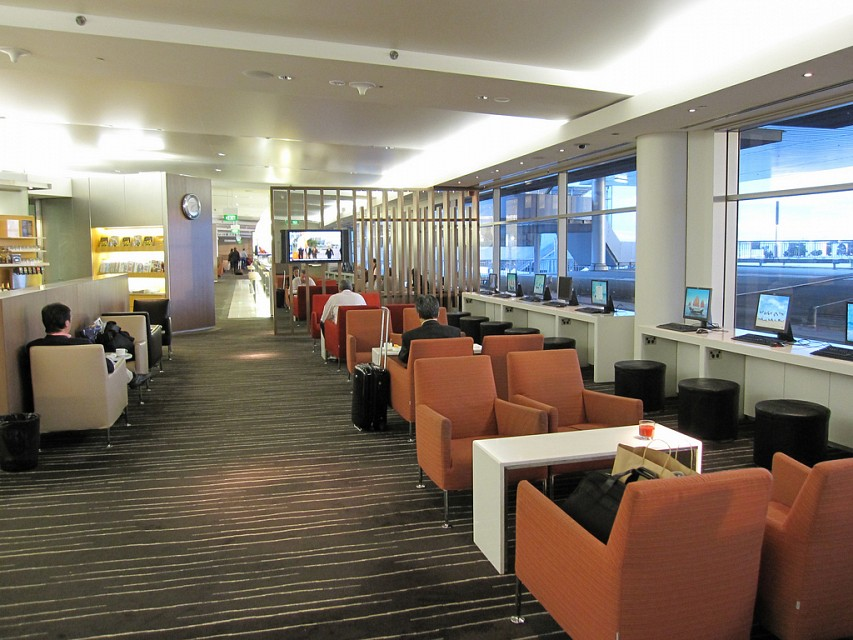QF International Business Lounge/Qantas Club, Sydney Airport - Sydney Kingford-Smith International Airport
