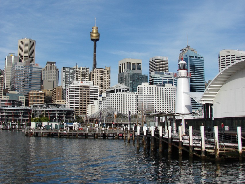 Shipping Lines - Sydney Tower