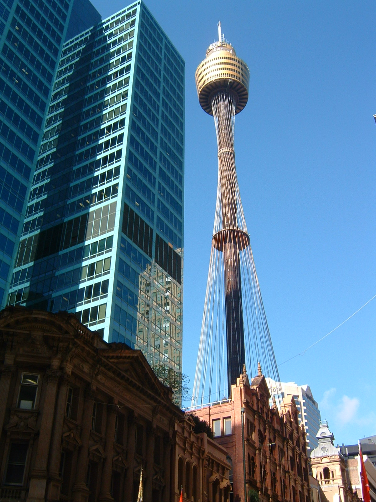 Sydney Tower - Tower in Sydney - Thousand Wonders