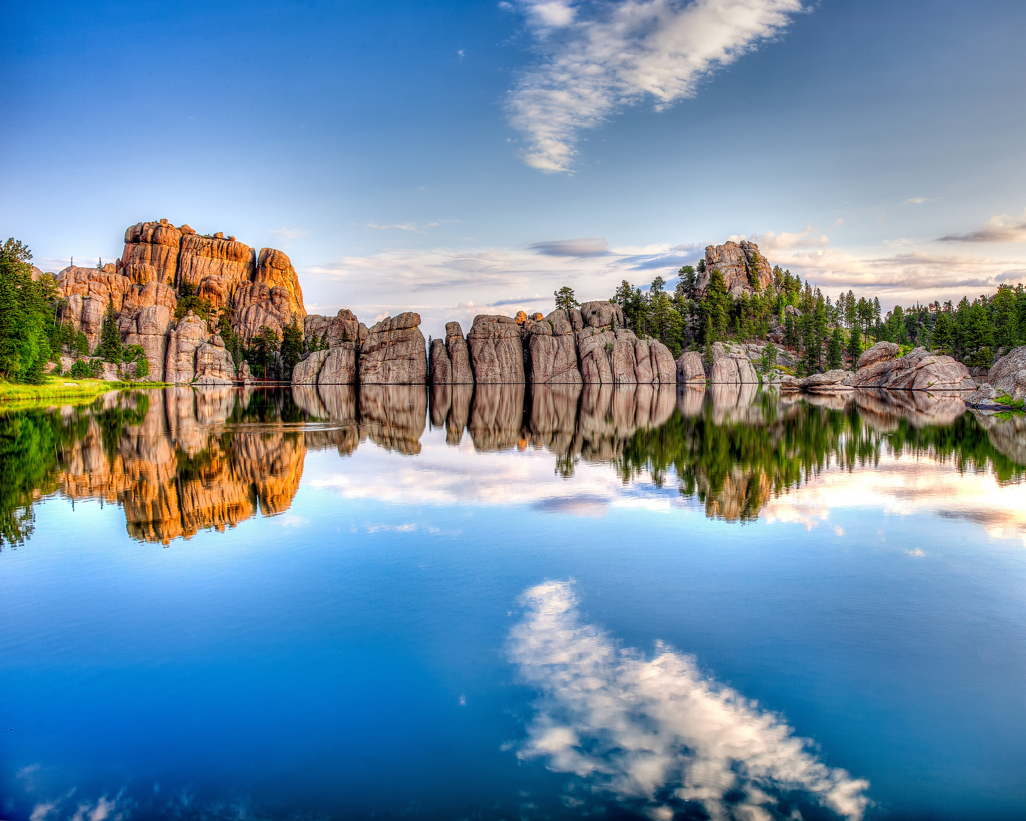 Sylvan lake lake in united states thousand wonders for Syvlan