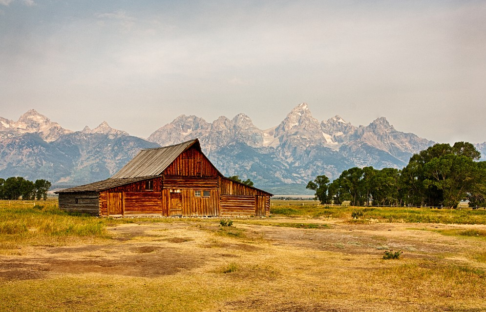 T A Moulton Barn Private Residence In Grand Teton