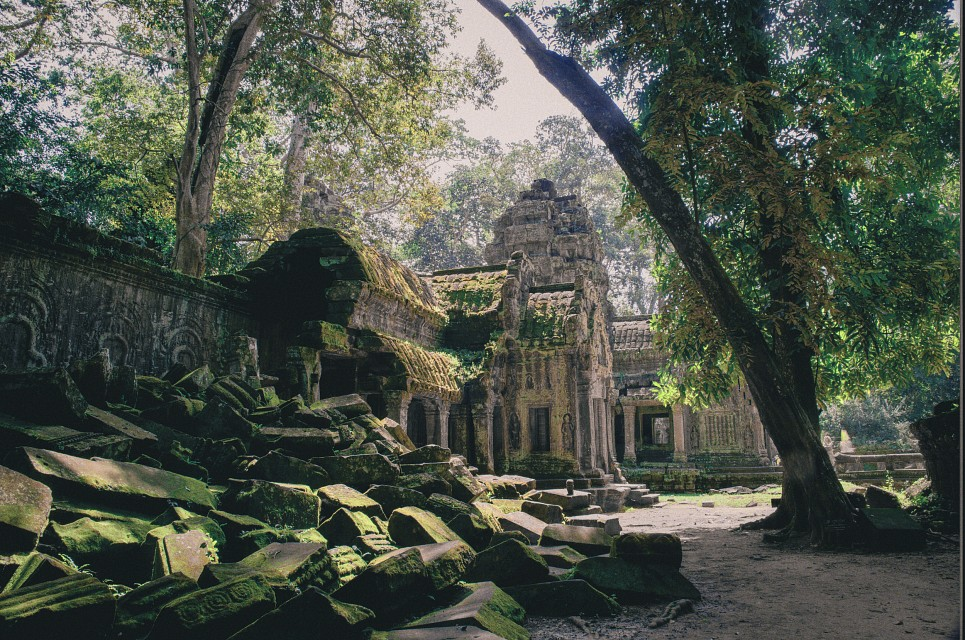 Rubble - Ta Prohm