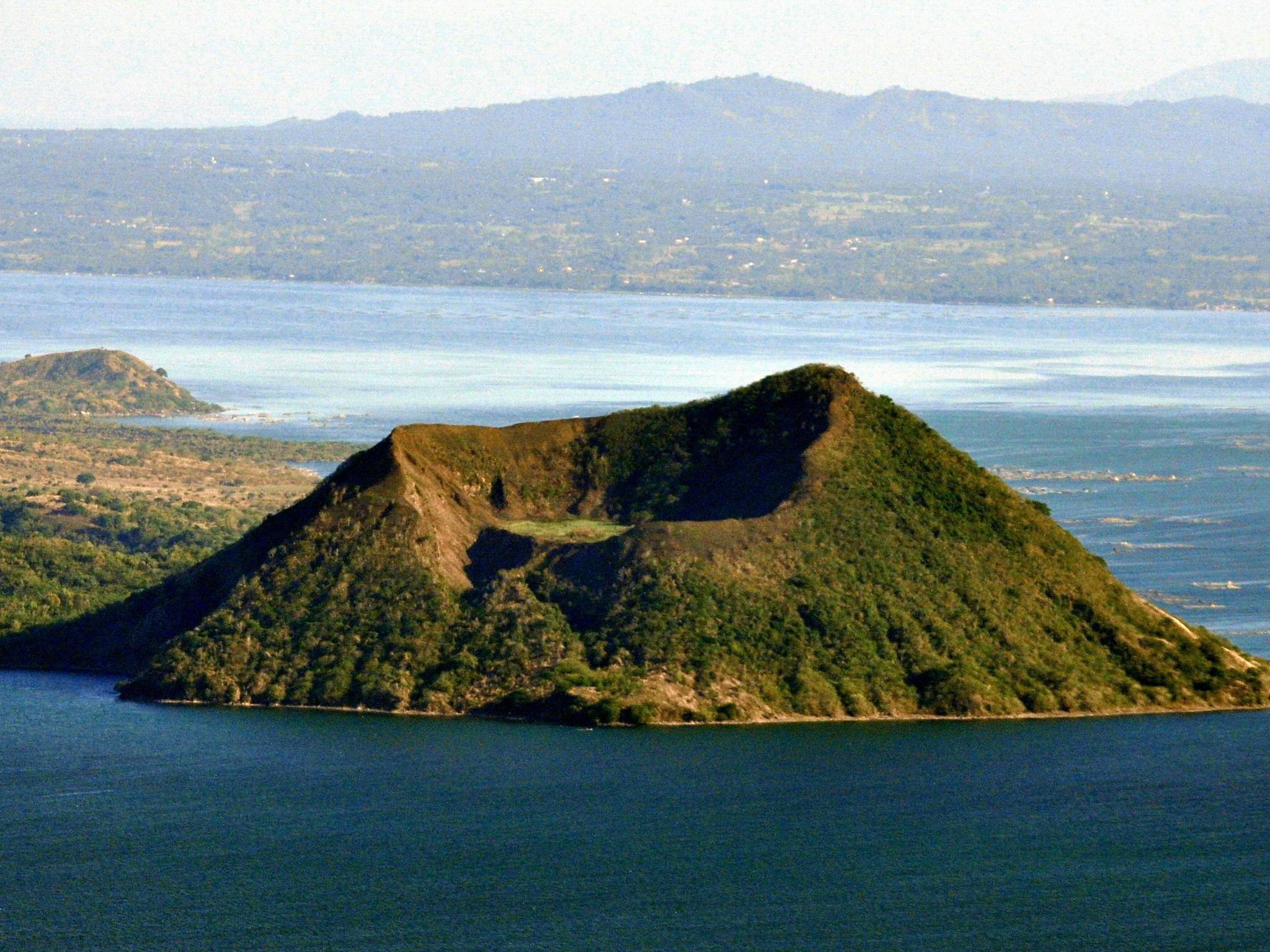 Taal Volcano, Philippines - most famous volcanoes