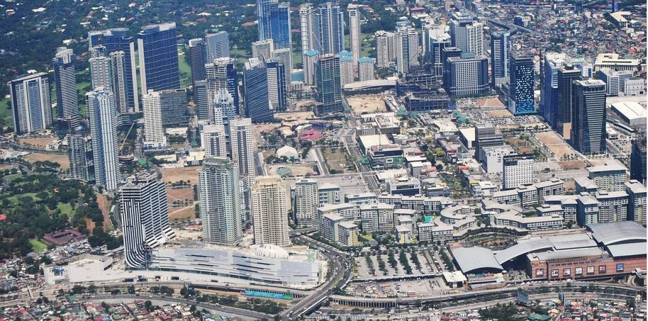 Taguig, with the SM Aura Premier