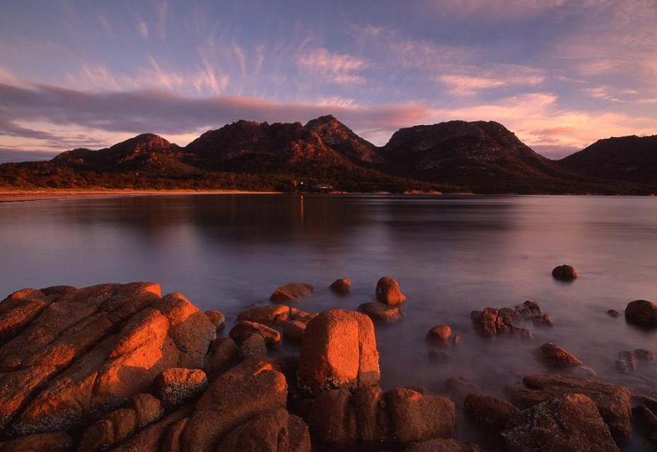 The Hazards, Freycinet NP, TAS - Tasmania
