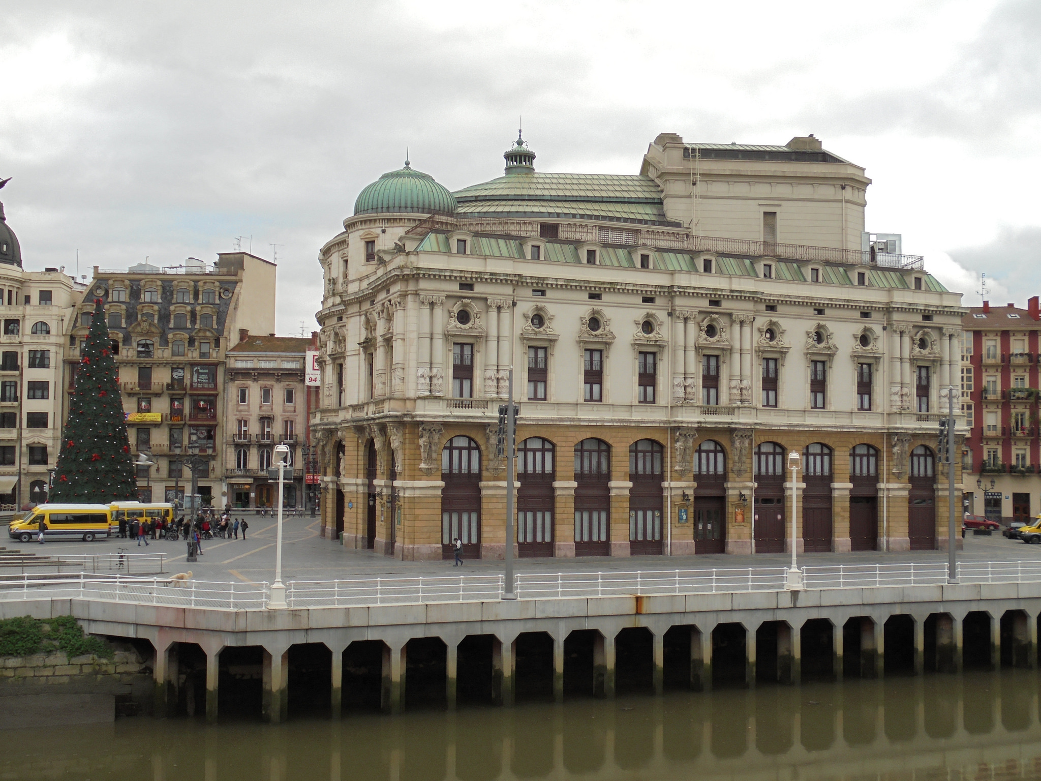 Teatro Arriaga Opera House In Bilbao Thousand Wonders