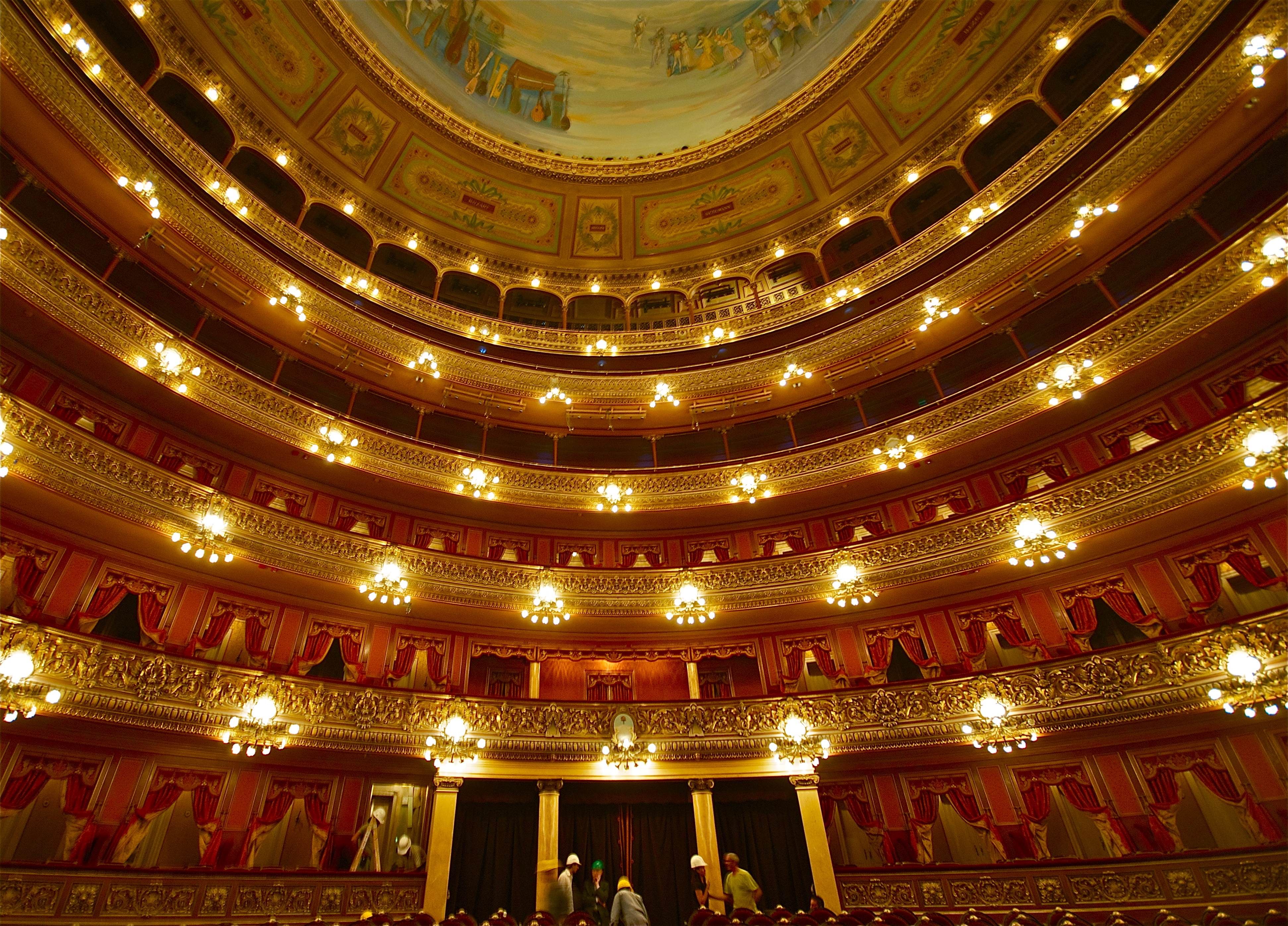 Teatro Colon - Opera House in Argentina